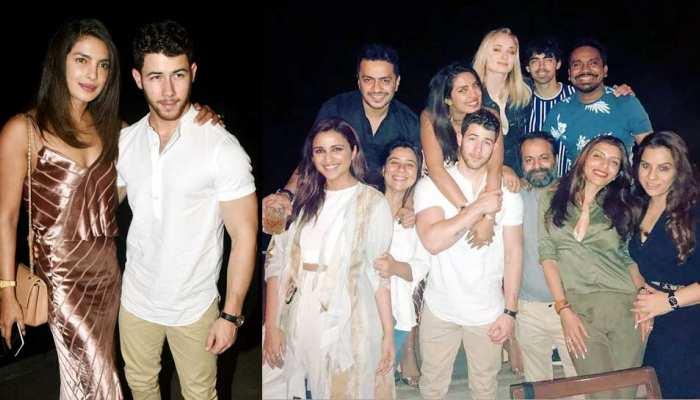 Priyanka Chopra Party with alia bhatt, Sophie Turner and Would be husband Nick Jonas