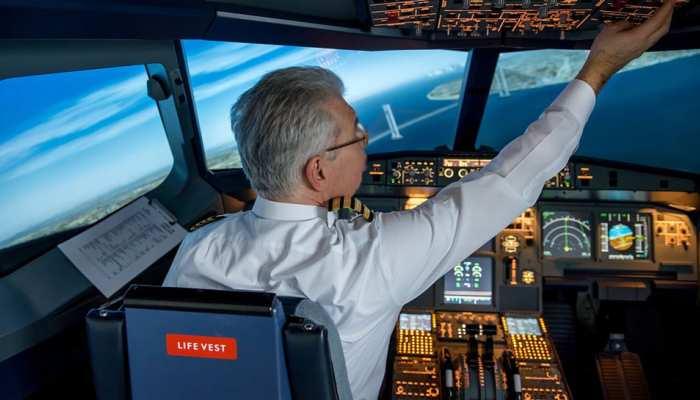 विमान उड़ाते समय पायलट को आई नींद, 46 किलोमीटर आगे आने पर आया होश