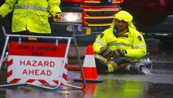सिडनी में भारी बारिश के बाद बाढ़ आने से जनजीवन प्रभावित