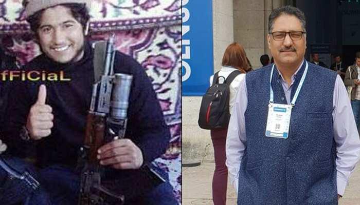 जम्मू-कश्मीर : पत्रकार शुजात बुखारी का एक और हत्यारा आतंकी मुठभेड़ में ढेर