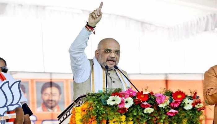 तेलंगाना चुनाव: अमित शाह बोले, 'अल्पसंख्यक तुष्टिकरण कर रही हैं कांग्रेस और टीआरएस'