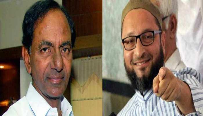 तेलंगाना चुनाव: राज्य में TRS और AIMIM की दोस्ती लगतार चढ़ रही परवान