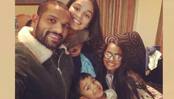 शिखर धवन ने बेटी के साथ शेयर किया VIDEO, लिखा दिल छू लेने वाला संदेश