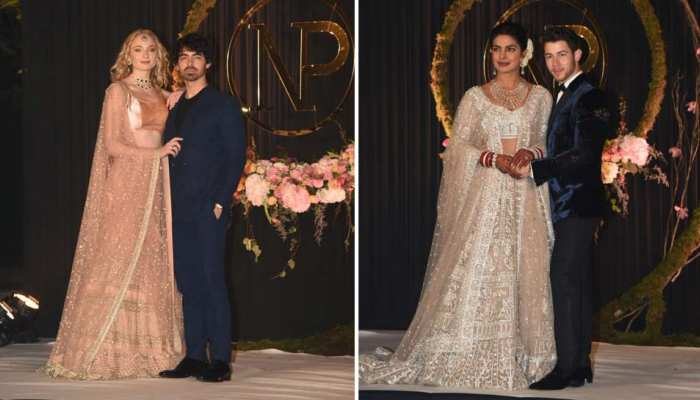 sophie turner Looks Stunning at Priyanka chopra nick jonas reception, see pics...