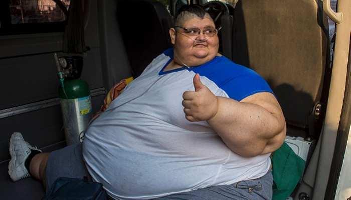 दुनिया के सबसे मोटे व्यक्ति ने बनाया नया वर्ल्ड रिकॉर्ड, 2 साल में घटाया इतना वजन...