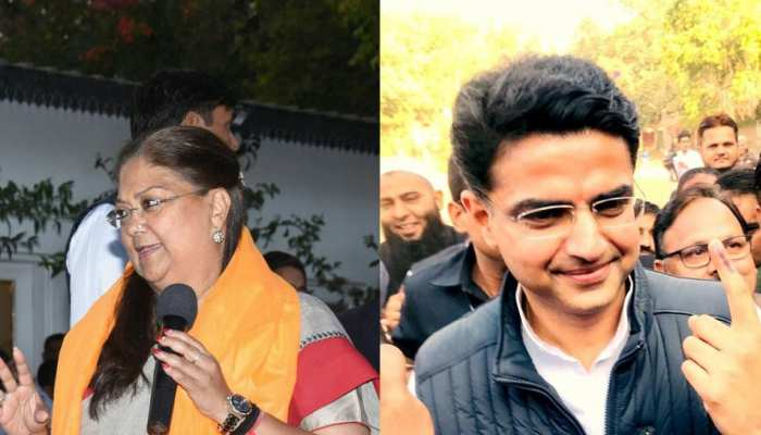 rajasthan election: from sachin pilot to cm raje, these minister's give vote