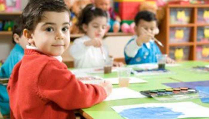गुरुग्राम : क्लास में शांत नहीं हुए बच्चे, तो टीचर ने मुंह पर चिपका दिया टेप