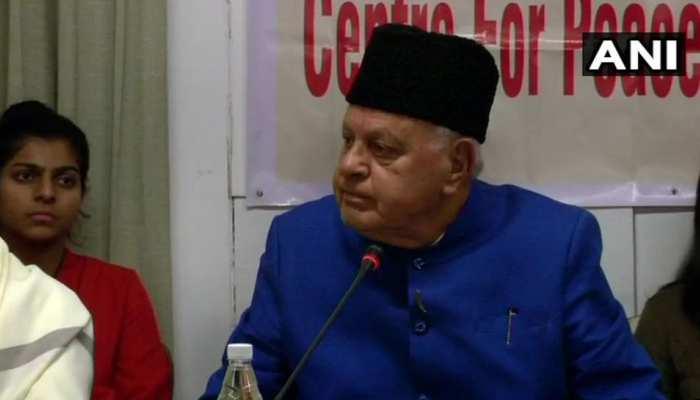 फारुख अब्दुल्ला का विवादित बयान, भगवान राम आकर बेरोजगारी नहीं दूर करेंगे