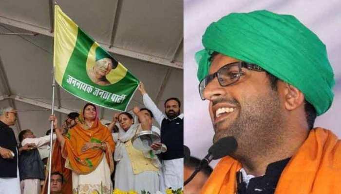 ओमप्रकाश चौटाला की पार्टी INLD में टूट, पोते दुष्यंत ने बनाई पार्टी