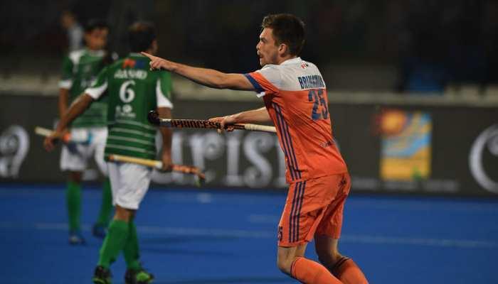 हॉकी विश्व कप: नीदरलैंड ने पाकिस्तान को हराया, अब भारत से हो सकता है मुकाबला