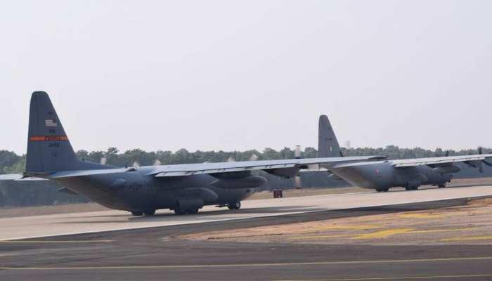 कोप इंडिया 2018' में एक-दूसरे से सीख रही हैं भारत और अमेरिकी वायुसेनाएं