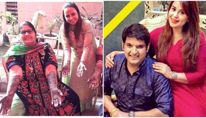 kapil sharma and ginni chatrath Sangeet and mehendi Ceremany photos are out