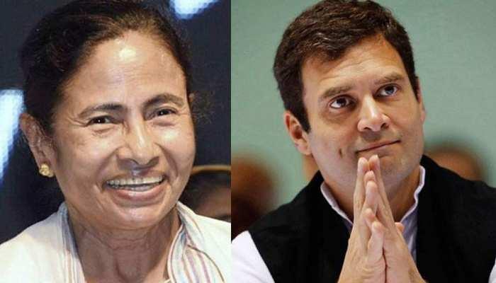 कांग्रेस का सवाल, जीत का श्रेय राहुल को देने पर क्यों खामोश हैं ममता