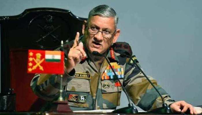 आर्मी चीफ जनरल रावत बोले,'गैर लड़ाकू भूमिकाओं में महिलाओं की संख्या बढ़ाएगी सेना'