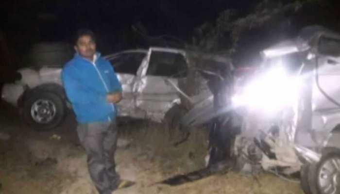 उन्नाव में दर्दनाक हादसा, दो गाड़ियों की भिड़ंत में चार लोगों की मौत