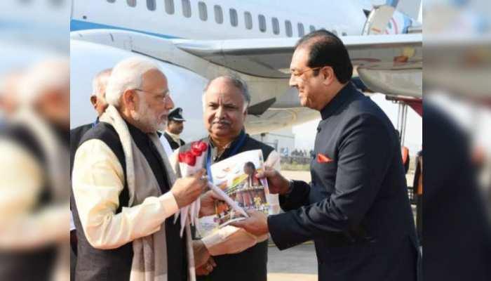यूपी के इस मंत्री ने CM योगी को छोड़, PM मोदी को दिया अपना रिपोर्ट कार्ड !
