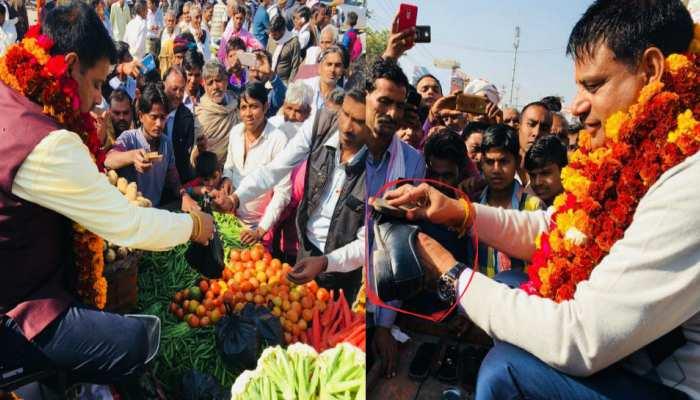 राजस्थान: चुनाव जीतने के बाद जूता पॉलिश करते और सब्जी बेचते दिखे विधायक