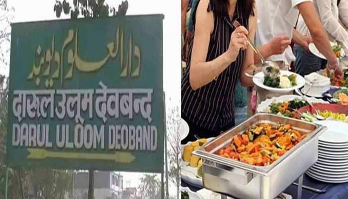 दारूल उलूम का अजब फतवा, मर्दों-औरतों का साथ खड़े होकर भोजन करना गैर इस्लामी