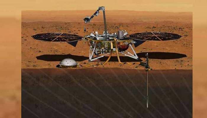 NASA की बड़ी कामयाबी: इनसाइट लैंडर ने मंगल ग्रह की सतह पर लगाया पहला सेंसर