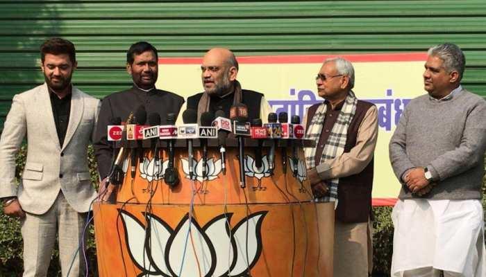 बिहार में 17-17 सीटों पर लड़ेगी BJP-JDU, लोजपा के खाते में 6 लोकसभा सीट