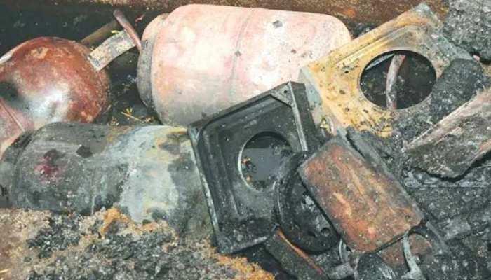 ठाणे: सिलेंडर फटने के बाद दीवार ढही, एक महिला की मौत, चार घायल