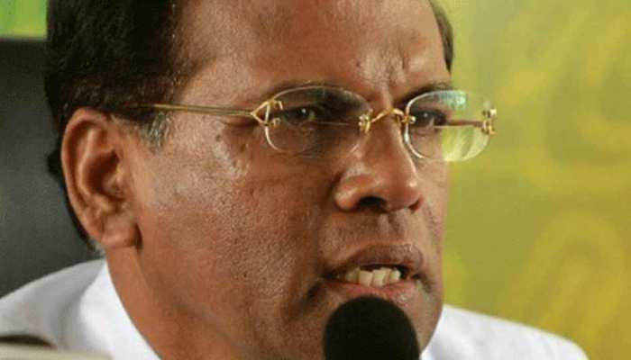 श्रीलंका: पार्टी के आयोजकों से मिले राष्ट्रपति सिरिसेना, समय से पहले चुनाव की उम्मीद