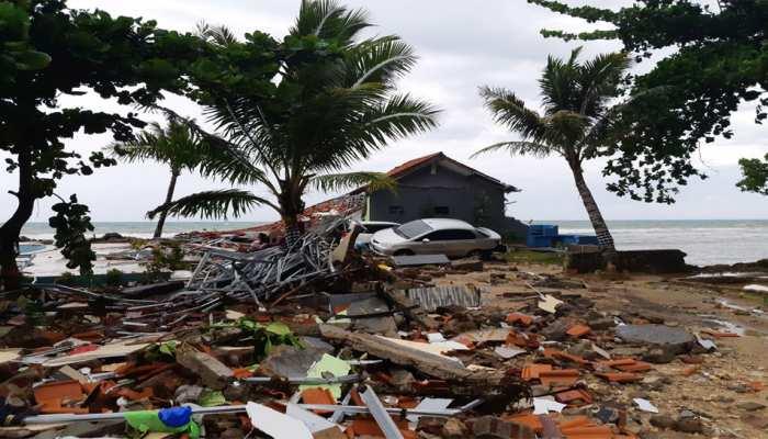 इंडोनेशिया सुनामी : मृतकों की संख्या 429 हुई, बचाव में बाधा बनी बारिश