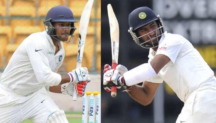 INDvsAUS LIVE:पहले दिन मयंक-पुजारा की फिफ्टी से बने टीम इंडिया के 215 रन