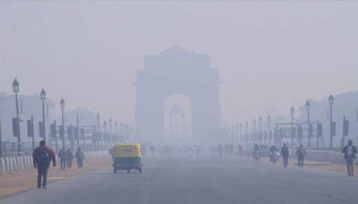 दिल्ली : 2014 के बाद दिसंबर का सबसे ठंडा दिन रहा गुरुवार, पारा 3.4 डिग्री सेल्सियस तक गिरा