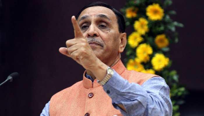 राहुल के संसदीय क्षेत्र के भी लोग काम के लिए आते हैं गुजरात: मुख्यमंत्री विजय रूपाणी