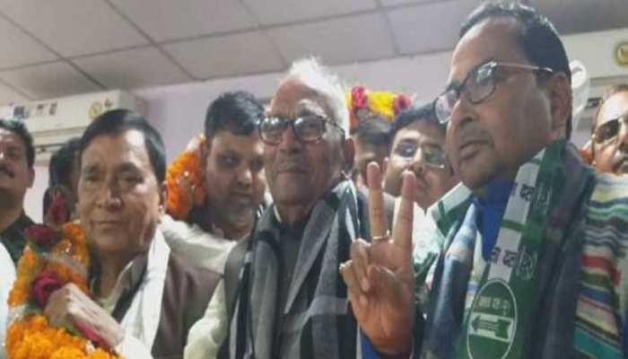 RLSP को बड़ा झटका, पार्टी के राष्ट्रीय उपाध्यक्ष भगवान सिंह कुशवाहा JDU में शामिल