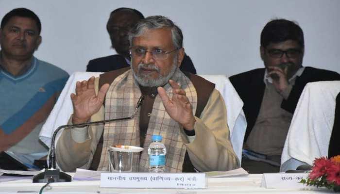 बिहार में पिछले वर्ष से 38 प्रतिशत अधिक जमा हुआ है टैक्स रेवेन्यू- सुशील मोदी