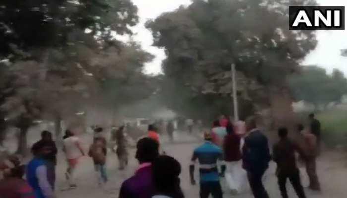 गाजीपुर: पीएम के लौटने के बाद प्रशर्नकारियों ने किया पथराव, एक सिपाही की मौत
