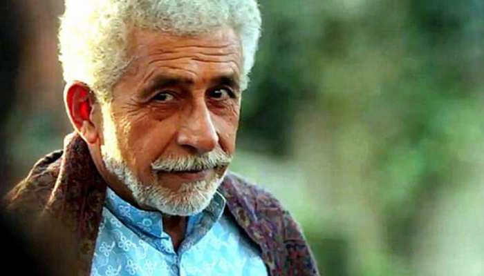 Nasiruddin shah is The perfect person to say a word firmly