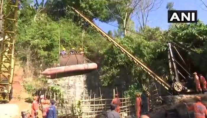 मेघालय: खदान में फंसे मजदूरों को निकालने में लगेंगे 5 दिन, पानी को पंप करने की तैयारी