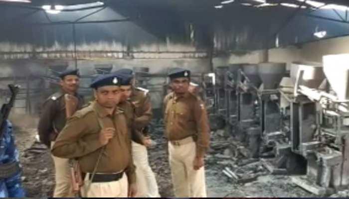 मुजफ्फरपुर: बिस्किट फैक्टरी में लगी भीषण आग में पांच मजदूर की मौत, रेस्क्यू ऑपरेशन जारी
