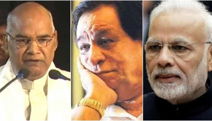 कादर खान के निधन पर PM मोदी ने जताया शोक, राष्ट्रपति कोविंद बोले- 'दुखद खबर'