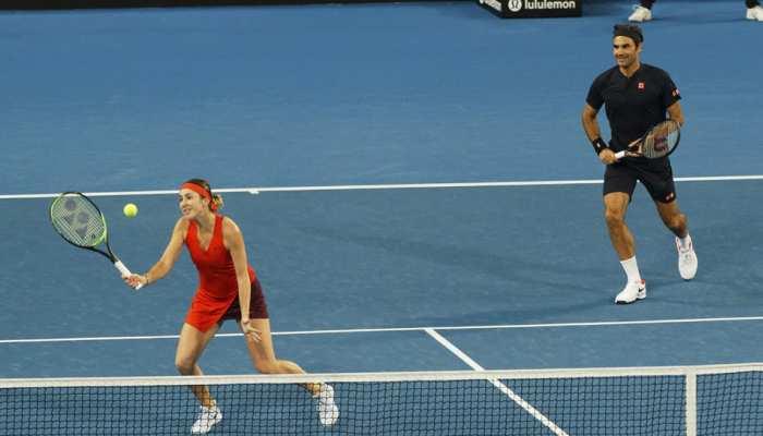 टेनिस: रोजर फेडरर ने साल के पहले ही दिन जीता 2019 का सबसे बड़ा मुकाबला