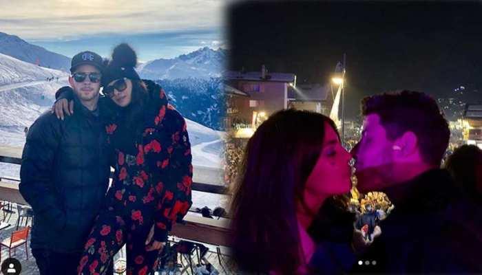 PHOTOS: Priyanka Chopra Nick Jonas celebrates New Year in this romantic style