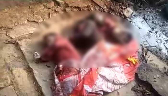 मासूमों के संग शौचालय की टंकी में कूदी महिला, तीनों बच्चों की मौत
