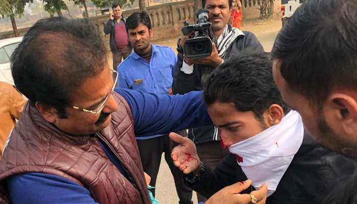 राजस्थान: युवक को परिवहन मंत्री ने खुद पहुंचाया अस्पताल, दुर्घटना में हुआ था घायल