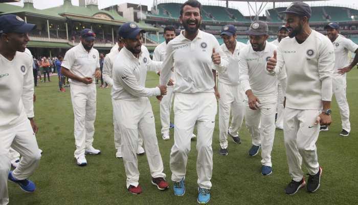 VIDEO: टीम इंडिया ने सिडनी में किया 'पुजारा डांस', देखें कोहली-पंत ने कैसे बढ़ाया पुजारा का जोश