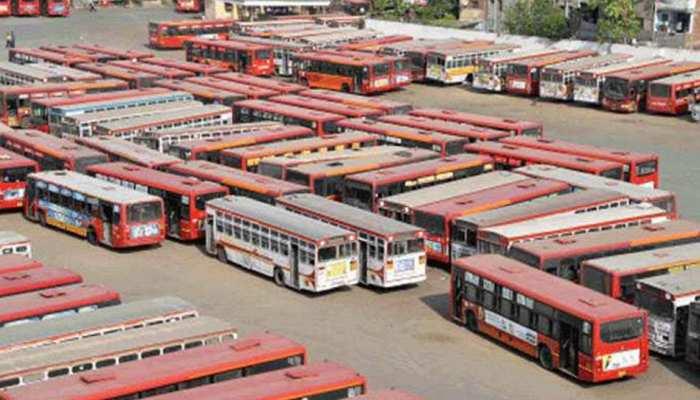 मुंबईः बेस्ट के 40 हजार कर्मचारियों की हड़ताल से मुंबई की सड़कों पर पसरा सन्नाटा