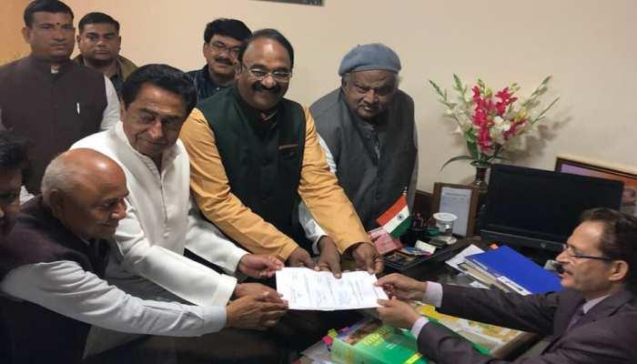 मध्य प्रदेश: विपक्ष की गैरहाजिरी में एनपी प्रजापति चुने गए विधानसभा अध्यक्ष