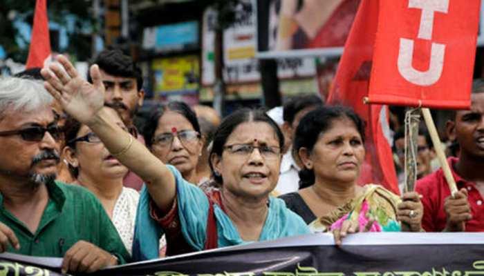 बिहार में भी दिखा ट्रेड यूनियनों की हड़ताल का मिलाजुला असर, आवागमन हुआ प्रभावित