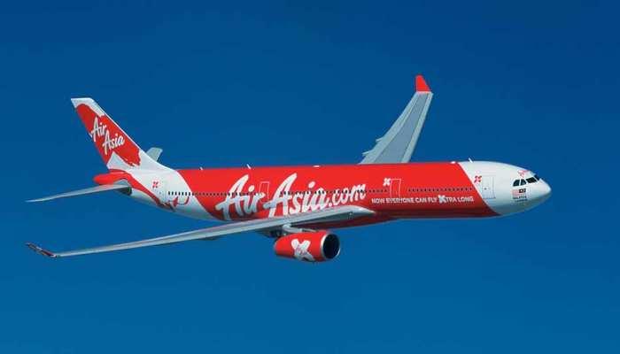 हवाई यात्रियों के लिए खुशखबरी, केवल 999 रुपये में कीजिए AirAsia से सफर