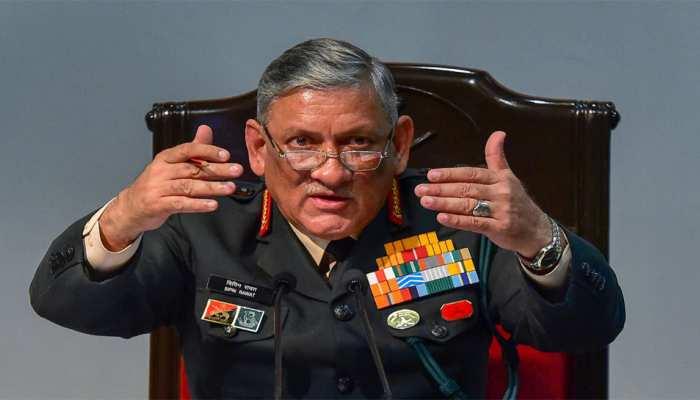 आर्मी चीफ जनरल रावत ने कहा, 'सेना में समलैंगिक संबंधों को अनुमति नहीं देंगे'