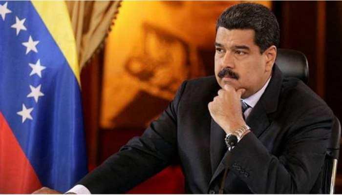 वेनेजुएलाः गहराते आर्थिक संकट के बीच मादुरो ने दूसरी बार राष्ट्रपति पद की शपथ ली
