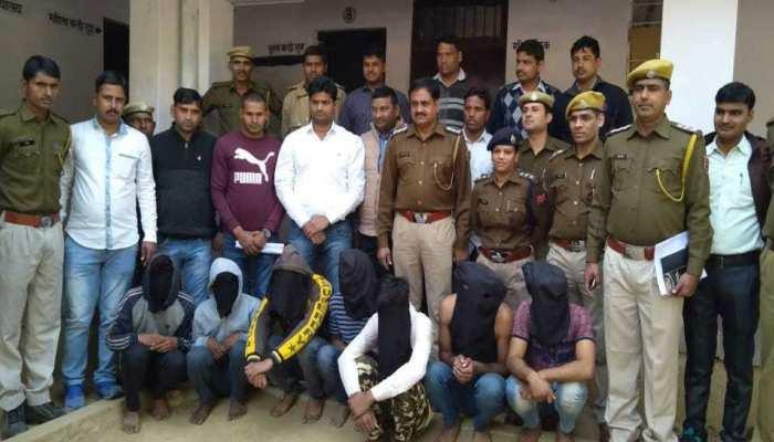 अलवर पुलिस को मिली बड़ी सफलता, 40 लाख के लूट की वारदात के मामले का हुआ खुलासा
