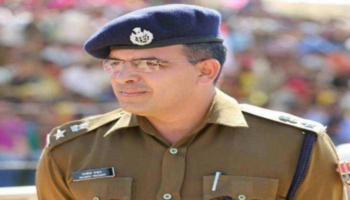 अलवर के नए SP राजीव पचार ने संभाली कमान, कहा- 'शांतिपूर्ण चुनाव कराना प्राथमिकता'